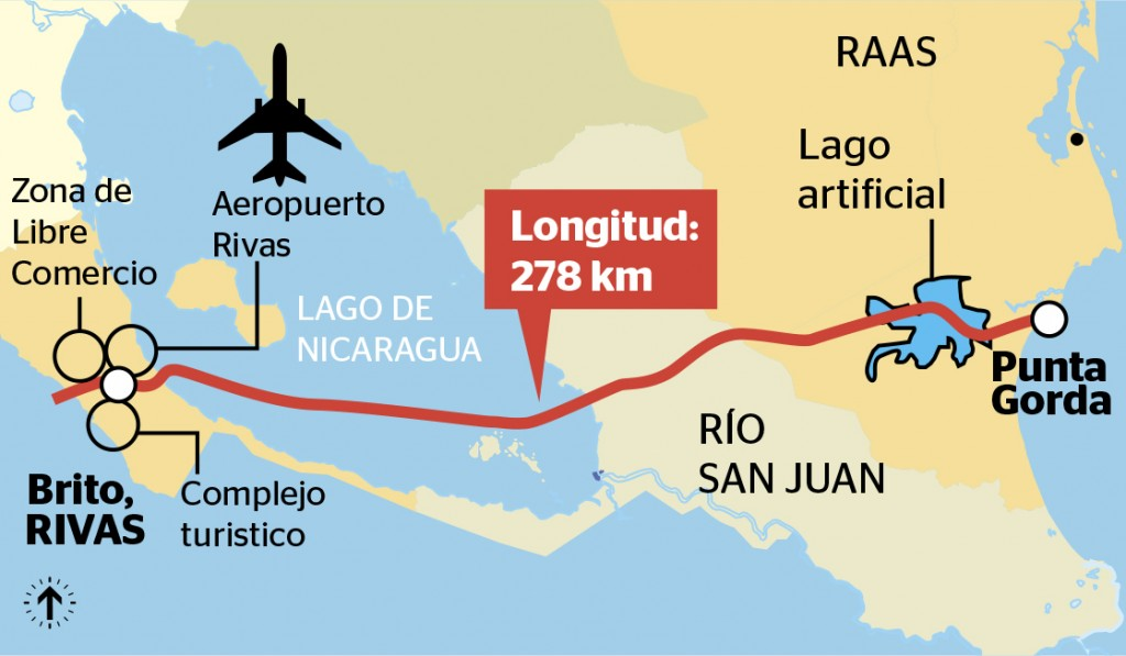 Nicaragua Inter oceanic canal